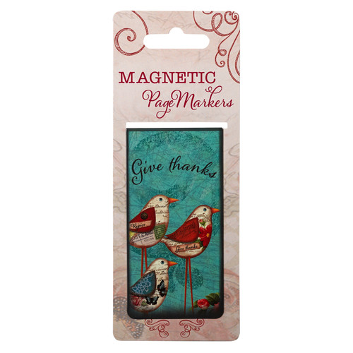 Give Thanks Large Magnetic Pagemarker
