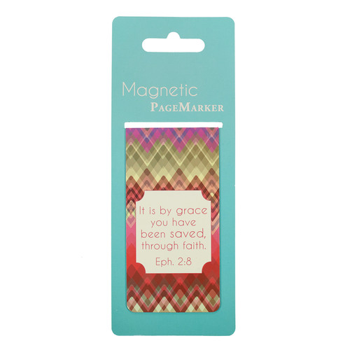 Chic Chevron Large Magnetic Pagemarker