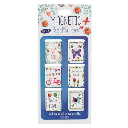 Everyday Blessings Magnetic Bookmarks