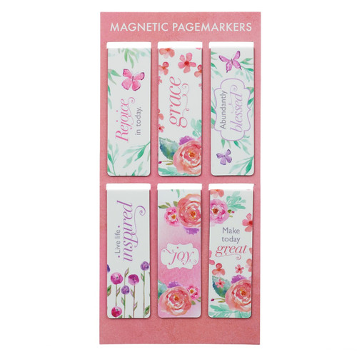 Blossoms of Blessings Magnet Bookmarks
