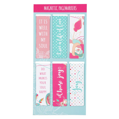 Well With My Soul Magnetic Bookmark Set