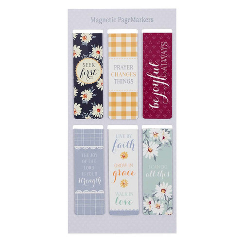 Daisy Magnetic Bookmark Set