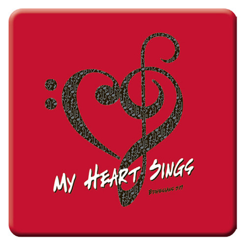 My Heart Sings Magnet - Ephesians 5:19