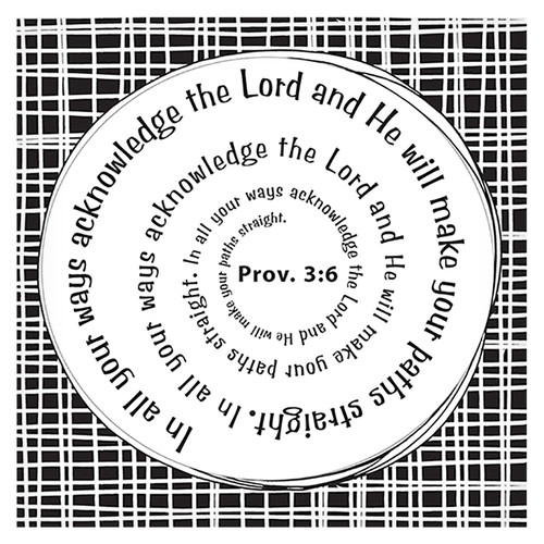 Acknowledge the Lord Magnet - Provers 3:6