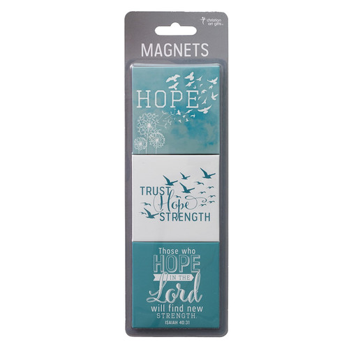 Soar Collection, Hope in the Lord Magnetic Bookmark Set - Isaiah 40:31