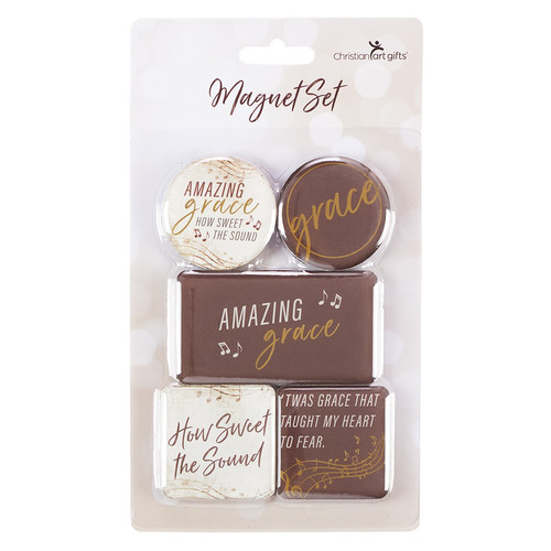 Amazing Grace Magnet Set