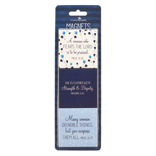 Prayer for a Mom's Heart Magnet Set - Proverbs 31