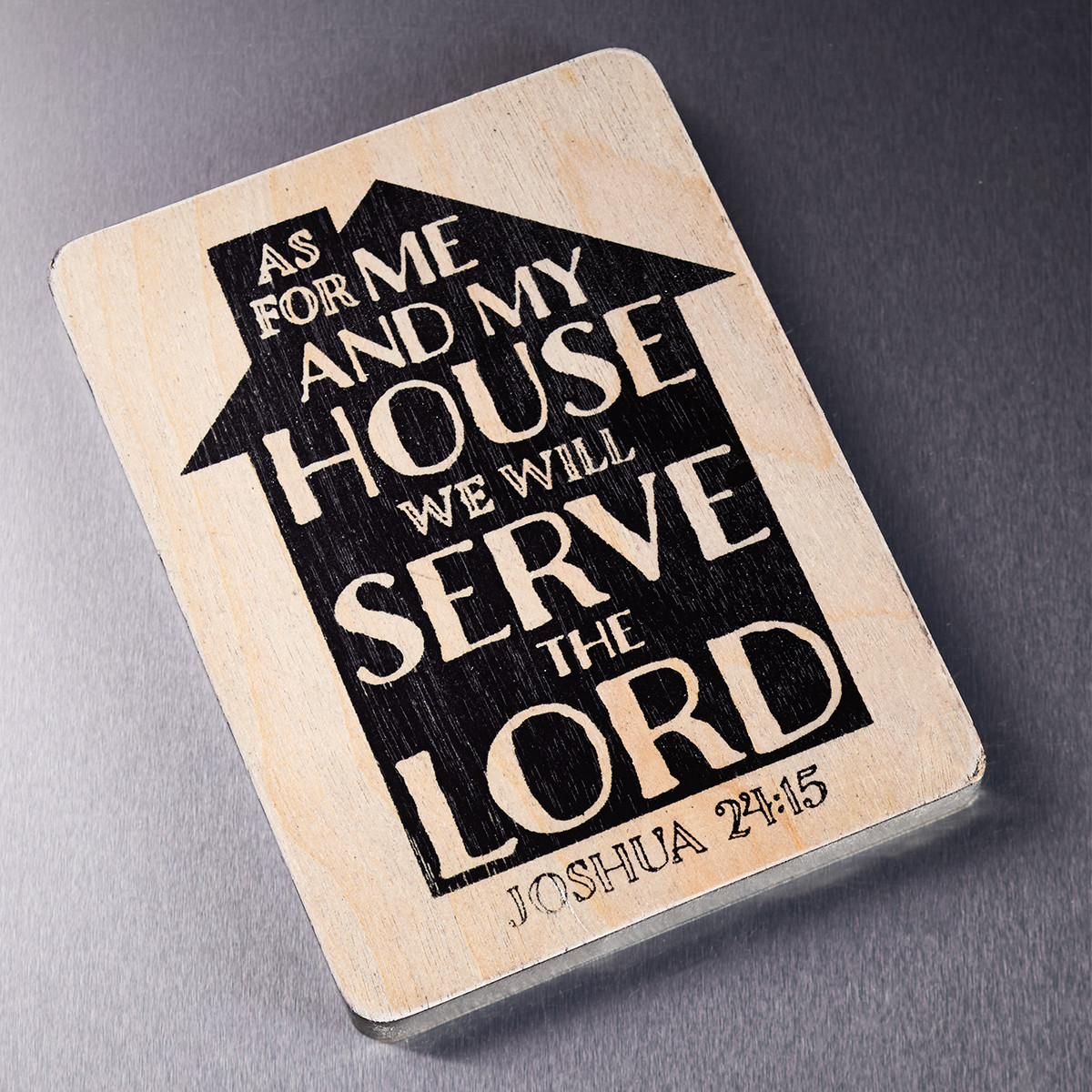As For Me And My House Magnet