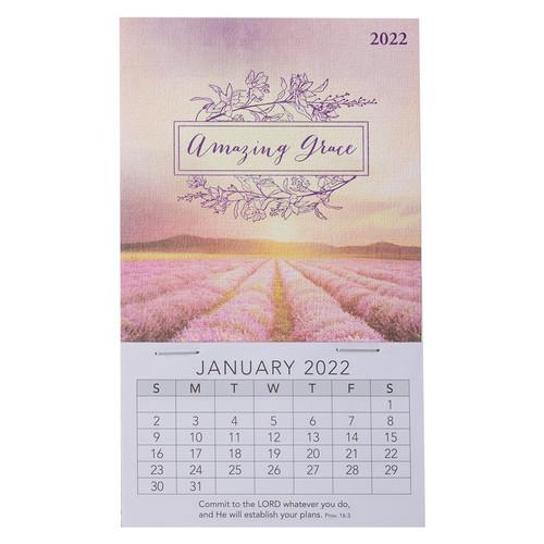 2022 Amazing Grace Mini Magnetic Calendar