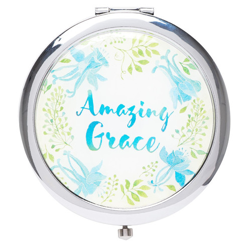 Watercolor Collection Amazing Grace Compact Mirror
