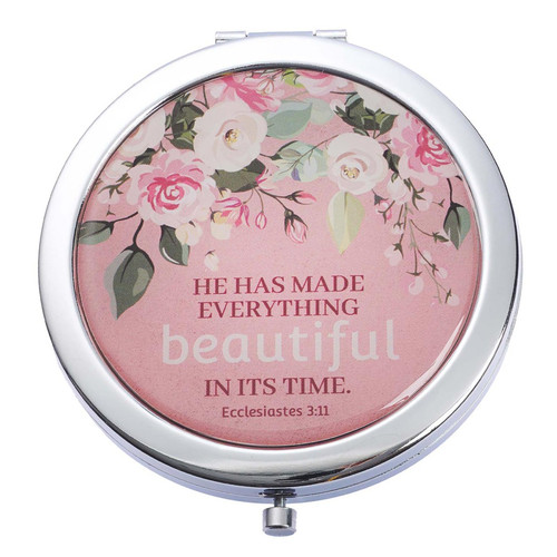 Beautiful In Its Time Compact Mirror - Ecclesiastes 3:11