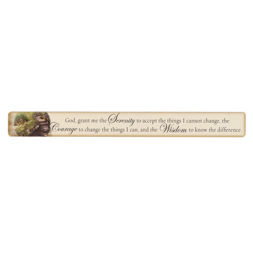 Serenity Prayer Magnetic Strip