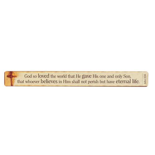John 3:16 Magnetic Strip