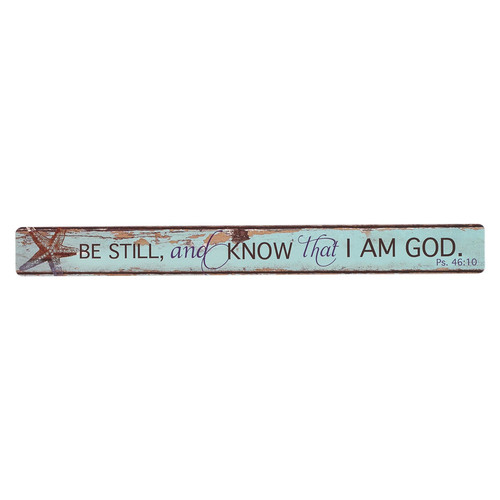 Be Still Magnetic Strip - Psalm 46:10