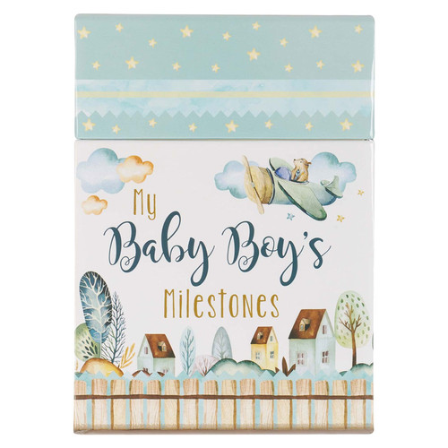 My Baby Boy's Milestone Cards