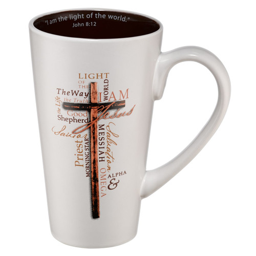 Light of the World Ceramic Coffee Mug - John 8:12