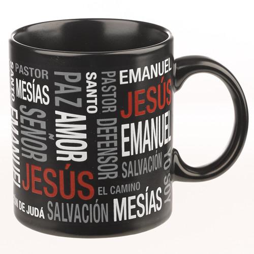 Taza Los nombres de Jesus - 13 oz