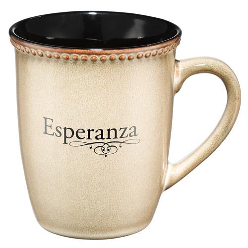Taza crema Esperanza
