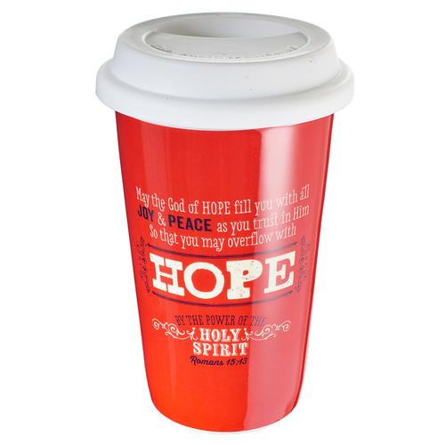 Ceramic Travel Mug: God of Hope - Romans 15:13