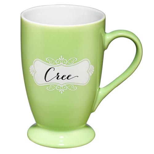 Taza verde Cree, Marcos 10:27
