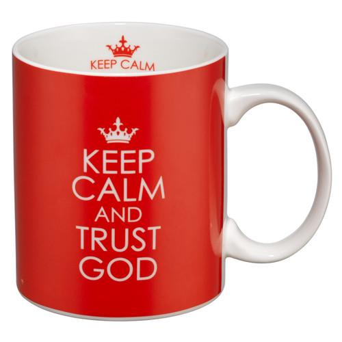 Keep Calm and Trust God Mug