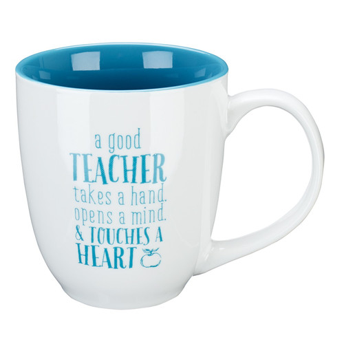 A Good Teacher Ceramic Teacher Coffee Mug - 1 Corinthians 16:14