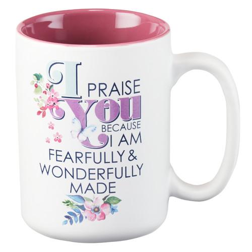 I Praise you Psalm 139:14 Coffee Mug