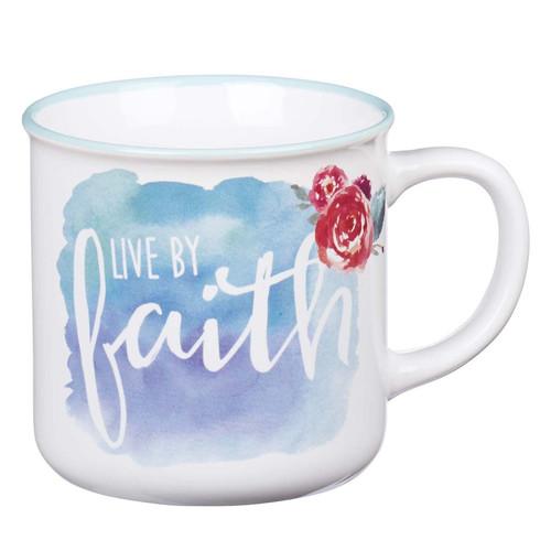 Live By Faith Coffee Mug