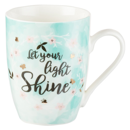 Let Your Light Shine Coffee Mug - Matthew 5:16