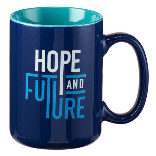 Hope & Future Jeremiah 29:11 Coffee Mug