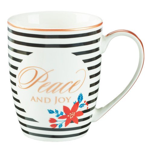 Christmas Mug: Peace and Joy