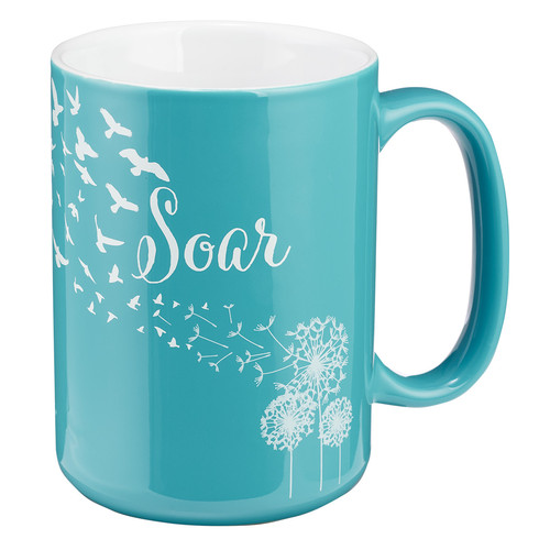 Soar Isaiah 40:31 Coffee Mug