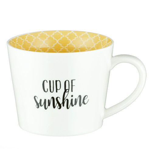 Cup of Sunshine Lamentations 3:22-23 Coffee Mug