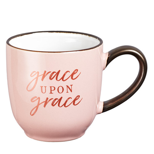 Grace Upon Grace Ceramic Coffee Mug - John 1:16