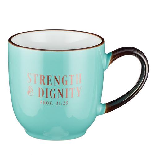 Strength and Dignity Proverbs 31:25 Coffee Mug
