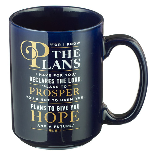 For I Know the Plans Jeremiah 29:11 Coffee Mug