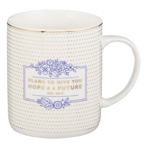 Hope and Future Coffee Mug - Jeremiah 29:11