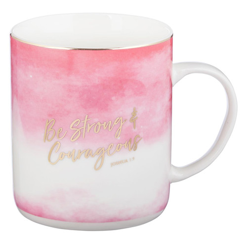 Be Strong & Courageous Coffee Mug