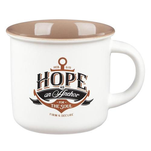Hope As An Anchor Coffee Mug