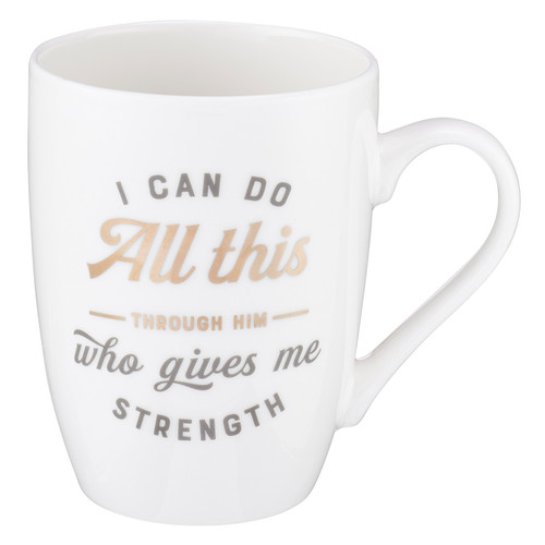 I Can Do All Things Coffee Mug – Philippians 4:13