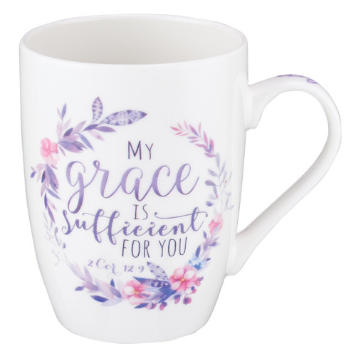 My Grace is Sufficient Coffee Mug - 2 Corinthians 12:9