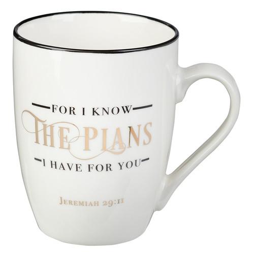 I Know The Plans Value Coffee Mug – Jeremiah 29:11
