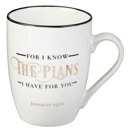 I Know The Plans Ceramic Coffee Mug – Jeremiah 29:11