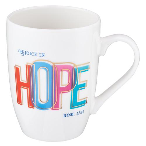 Rejoice In Hope Coffee Mug – Romans 12:12