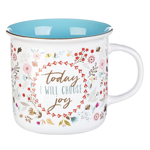 Today I Choose Joy Ceramic Coffee Mug
