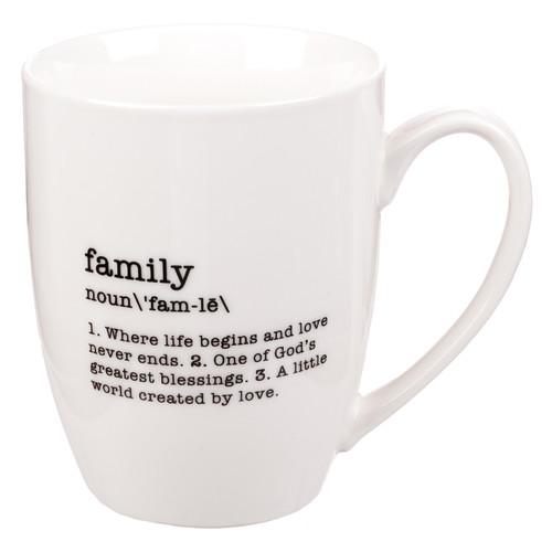 Family - Noun Coffee Mug