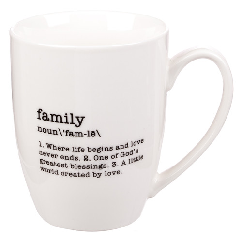 Family - Noun Coffee Mug