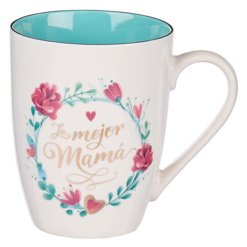 Le Mejor Mamá Taza Cerámica
