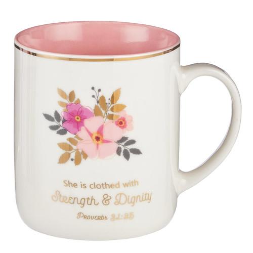 Strength and Dignity Mug – Proverbs 31:25