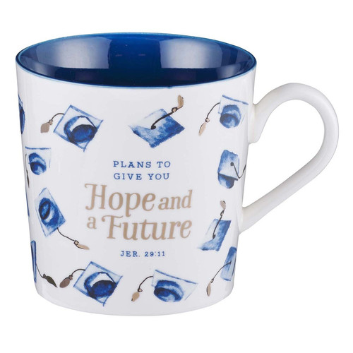 Hope & A Future Ceramic Graduation Mug - Jeremiah 29:11